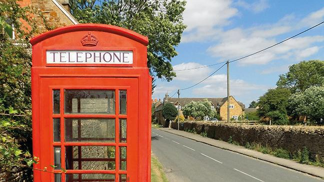 Kingham phonebox